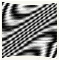 untitled [la lune en rodage - carlo belloli] by bridget riley